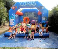 Camping de Prigny - ZOZO notre chateau gonflable